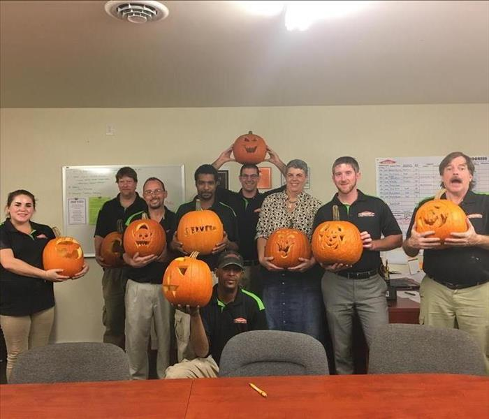 Company Cookout and Pumpkin Carving