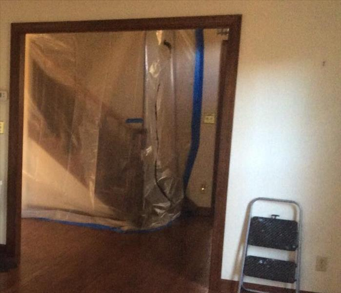 Setting Up Containment for Mold Remediation