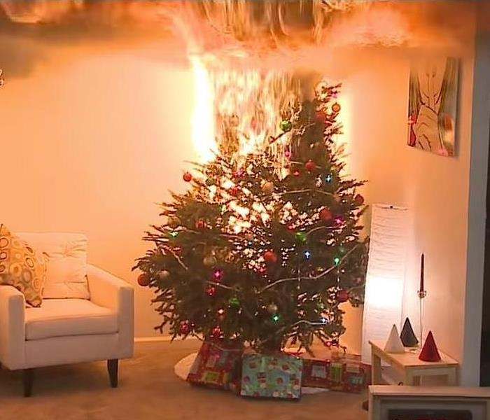 Fire Damage Christmas Tree Safety Tips: Eliminating Fire Hazards